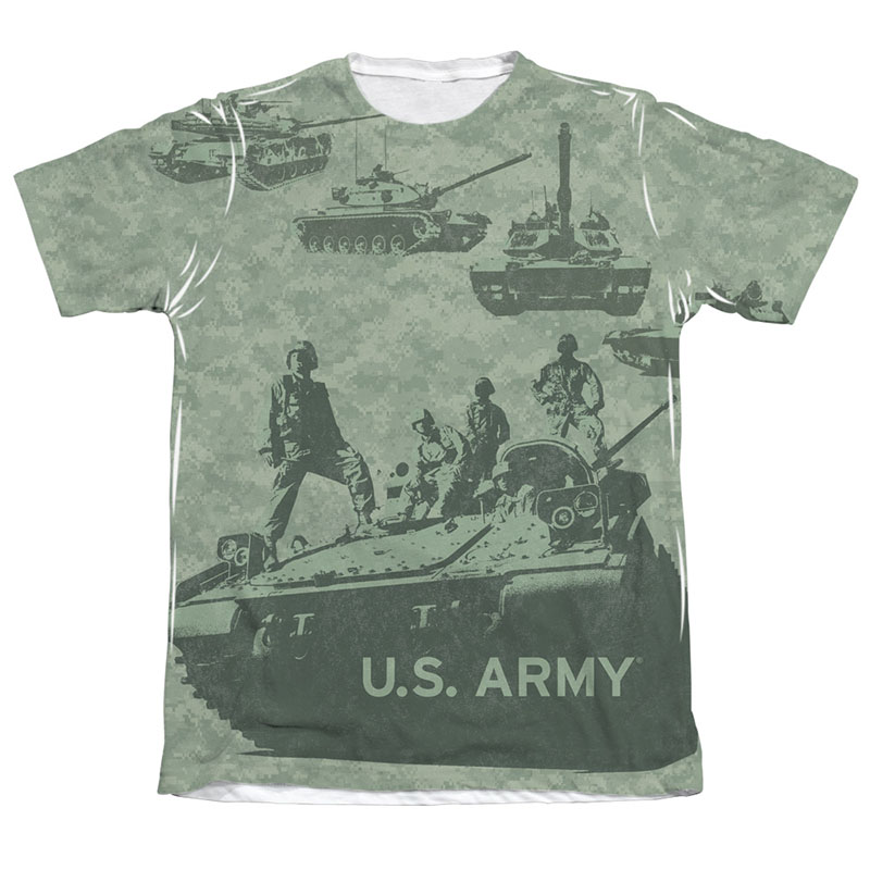 Us Army Values Sublimation T Shirt