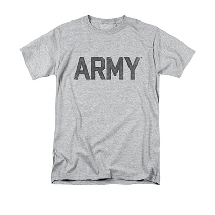 US Army Logo Gray T-Shirt