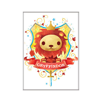Harry Potter Cute Gryffindor Magnet