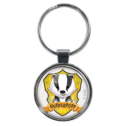 Harry Potter Hufflepuff Cartoon Keychain