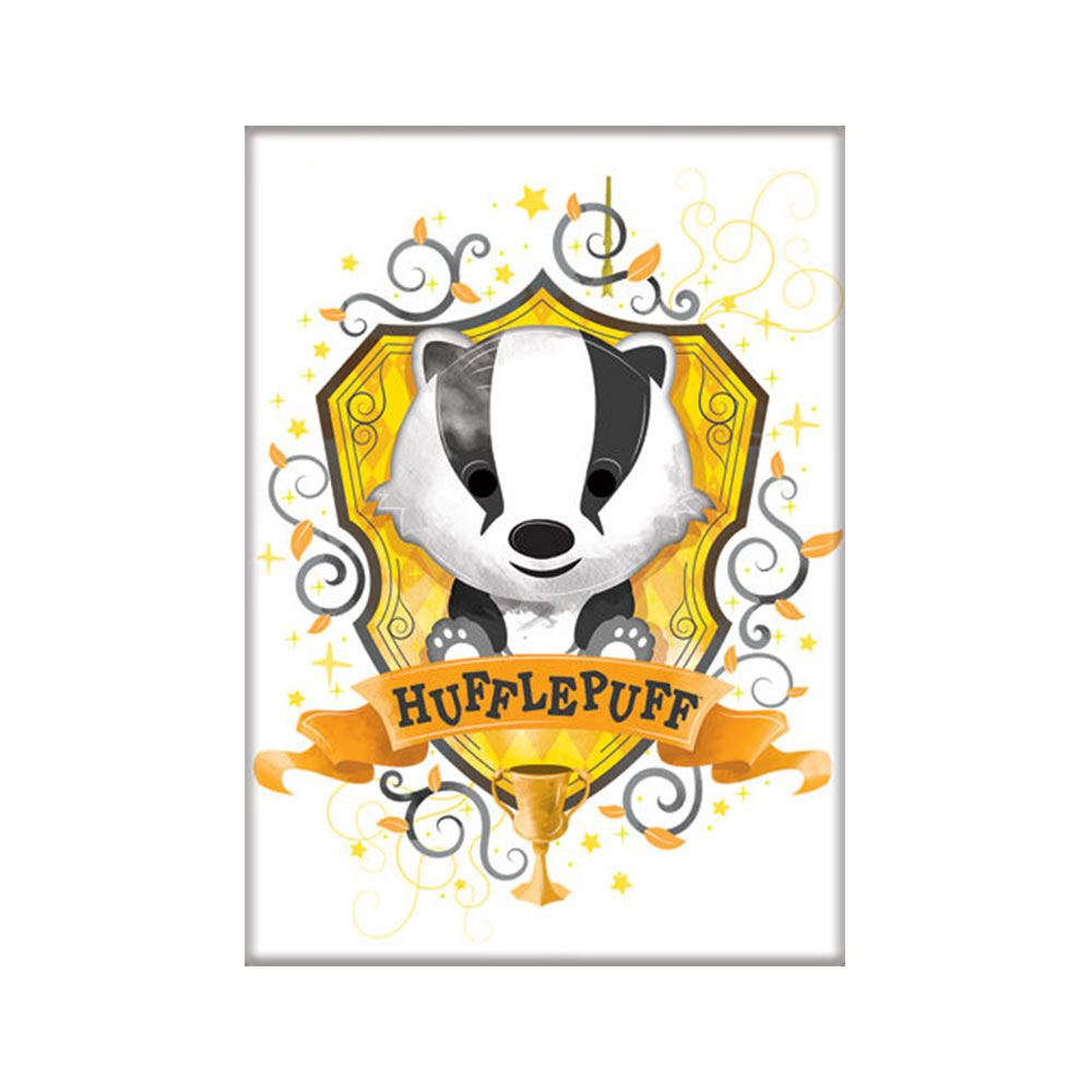 Harry Potter Hufflepuff Cartoon Magnet