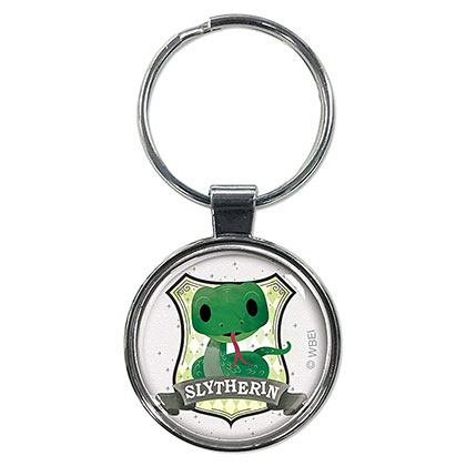 Harry Potter Slytherin Cartoon Keychain