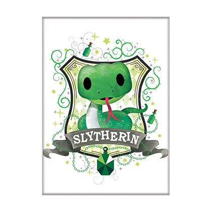 Harry Potter Slytherin Cartoon Magnet