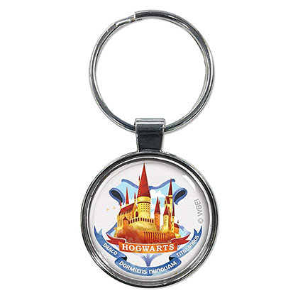 Harry Potter Cartoon Hogwarts Keychain
