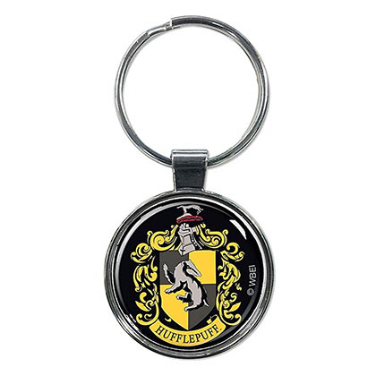 Harry Potter House Hufflepuff Crest Keychain
