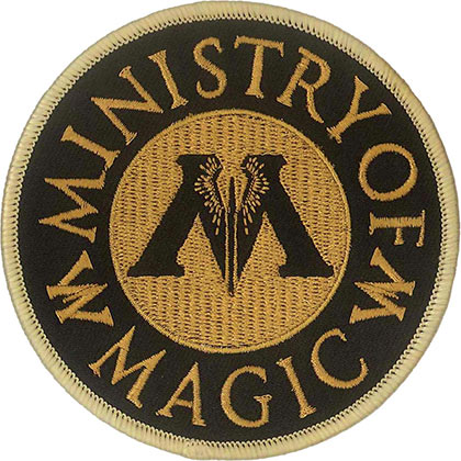 Harry Potter Ministry Of Magic Circle Patch