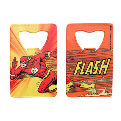 Flash Comic Card Bottle Opener
