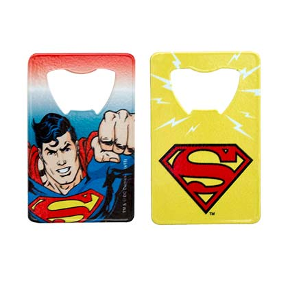 SUPERMAN CARD BOTTLE OPENER PLACEHOLDER