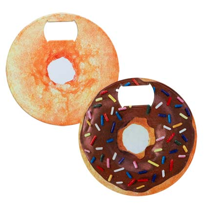 DONUT BOTTLE OPENER COASTER PLACEHOLDER