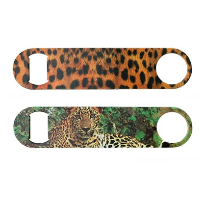 LEOPARD PRINT BOTTLE OPENER PLACEHOLDER