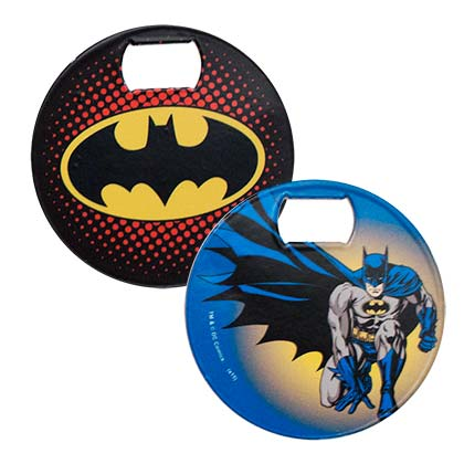 BATMAN LOGO BOTTLE OPENER COASTER PLACEHOLDER
