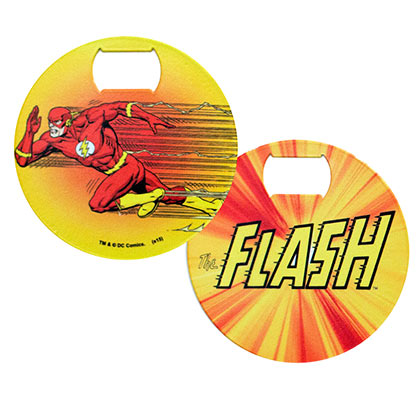 Flash Comic Bottle Opener Coaster