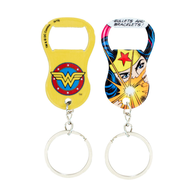 wonder women keychain bottle opener. Black Bedroom Furniture Sets. Home Design Ideas