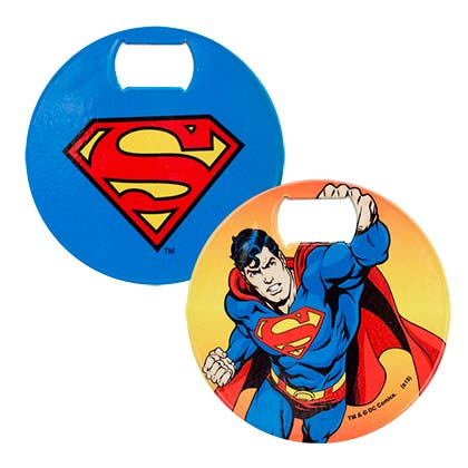 SUPERMAN BOTTLE OPENER COASTER PLACEHOLDER