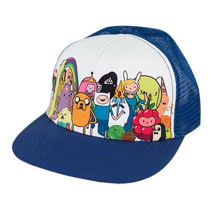 Adventure Time Mesh Sublimation Trucker Hat