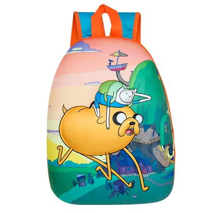 Adventure Time Finn And Jake Bubble Sunset Backpack
