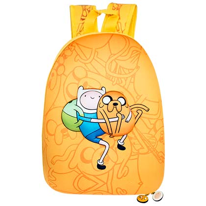 Adventure Time Bubble Yellow Backpack