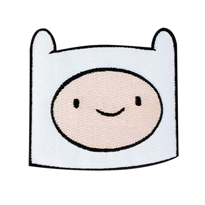 Adventure Time White Finn Patch