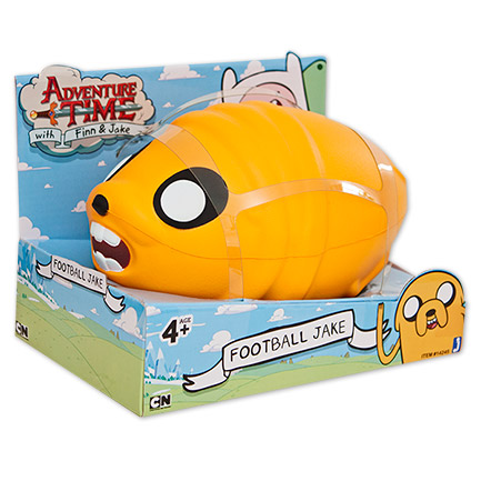 "Adventure Time 8"" Jake Football Toy"