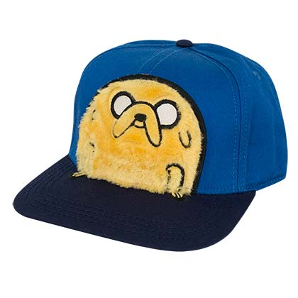 Adventure Time Fuzzy Jake Costume Snapback Hat