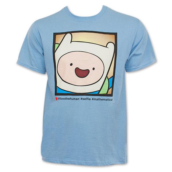 Adventure Time Finn #Selfie Tee Shirt