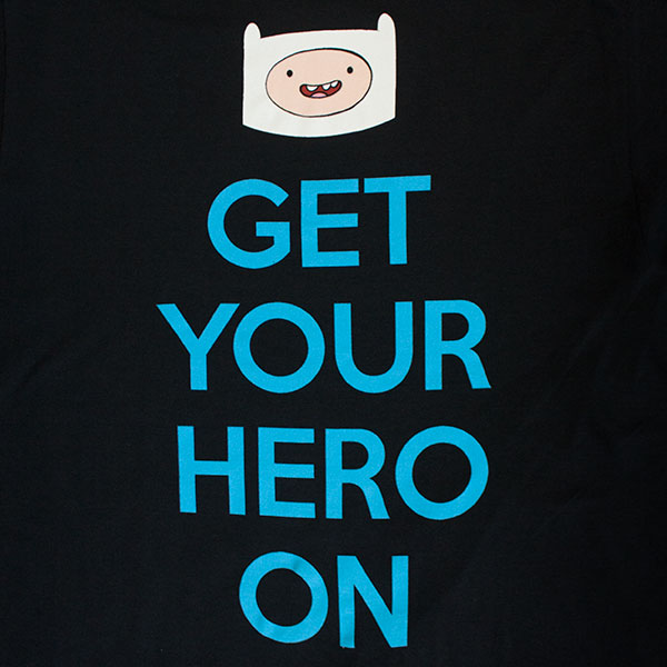 Adventure Time Get Your Hero On T-Shirt