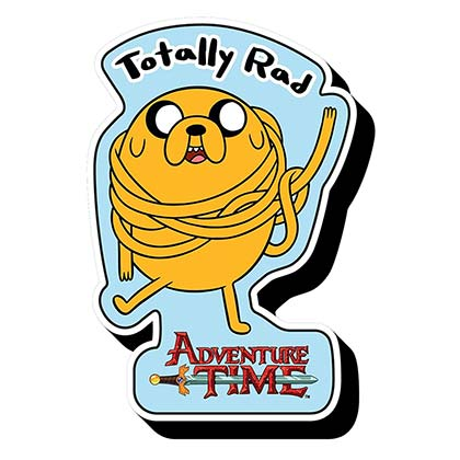 Adventure Time Totally Rad Magnet
