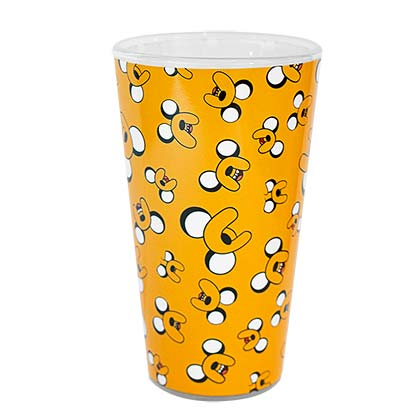 Adventure Time Orange Repeat Jake Print Pint Glass
