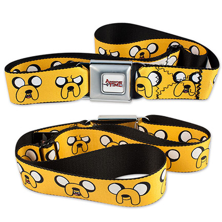 Adventure Time Jake Seatbelt Belt