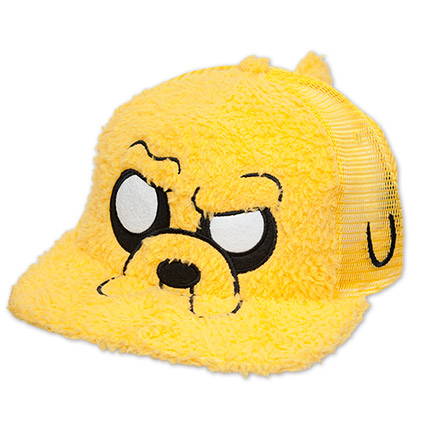 Jake The Dog From Adventure Time Fuzzy Snapback Hat