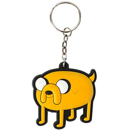 Adventure Time Rubber Jake Keychain