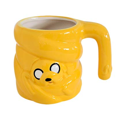 Adventure Time Yellow Stretched Jake Mug