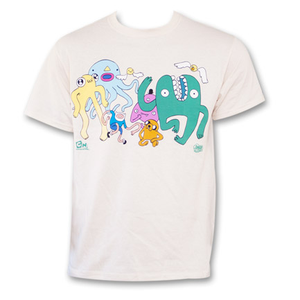Adventure Time Finn And Jake Dancing With Monsters T-Shirt