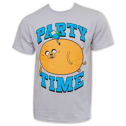 Adventure Time Jake Party Time Mens T-Shirt