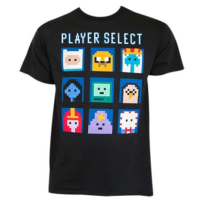 Adventure Time Player Select Men's T-Shirt