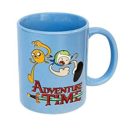 Adventure Time Blue Mug