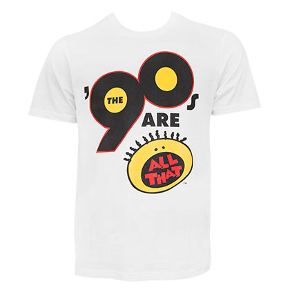 Nickelodeon Men's White All That 90's T-Shirt
