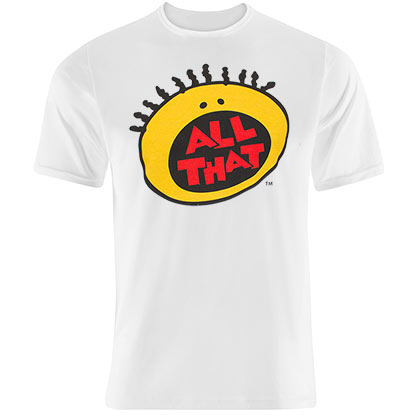 Nickelodeon All That White Tee Shirt