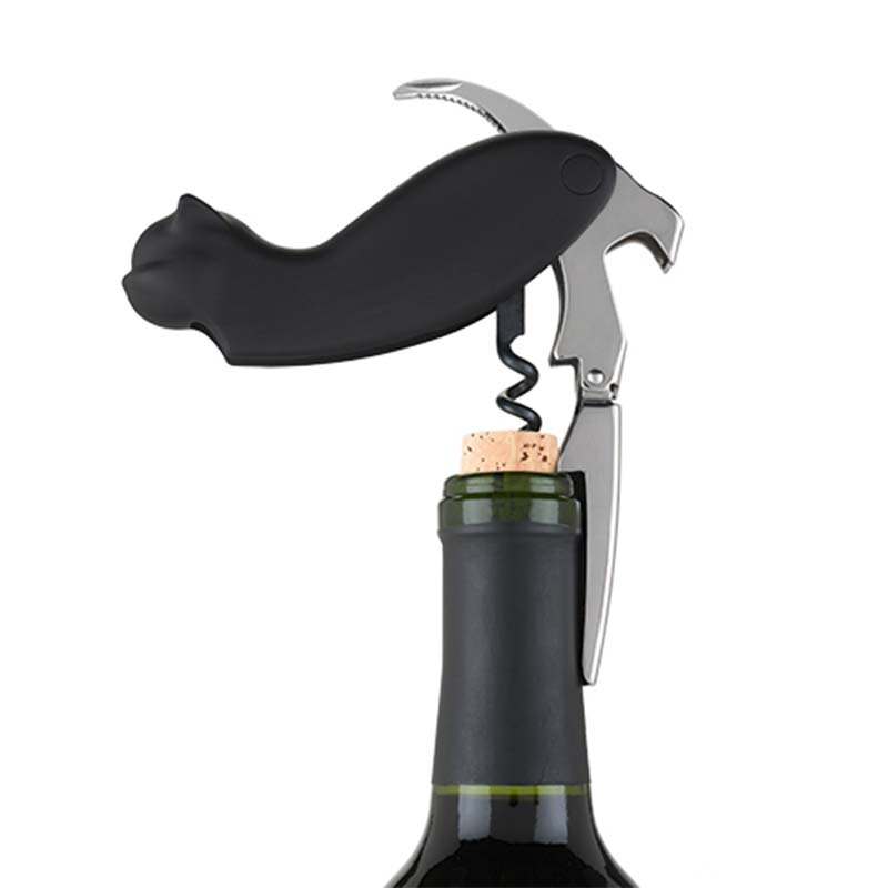 allie cat corkscrew bottle opener. Black Bedroom Furniture Sets. Home Design Ideas