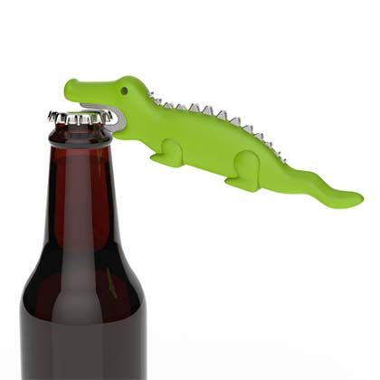 Ale-igator Green Bottle Opener
