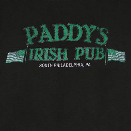 It's Always Sunny In Philadelphia Paddy's Pub Black Tee Shirt