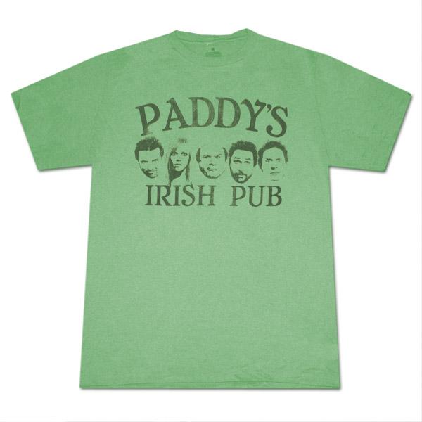 It's Always Sunny In Philadelphia  Heather Green Graphic Tee Shirt