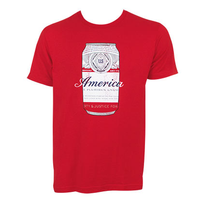 Budweiser America Can Tee Shirt