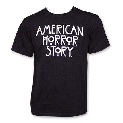 American Horror Story Logo T-Shirt - Black