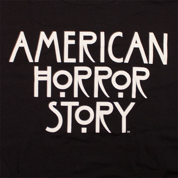 American Horror Story Logo Shirt Black