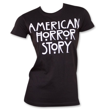 American Horror Story Women's Logo T-Shirt - Black