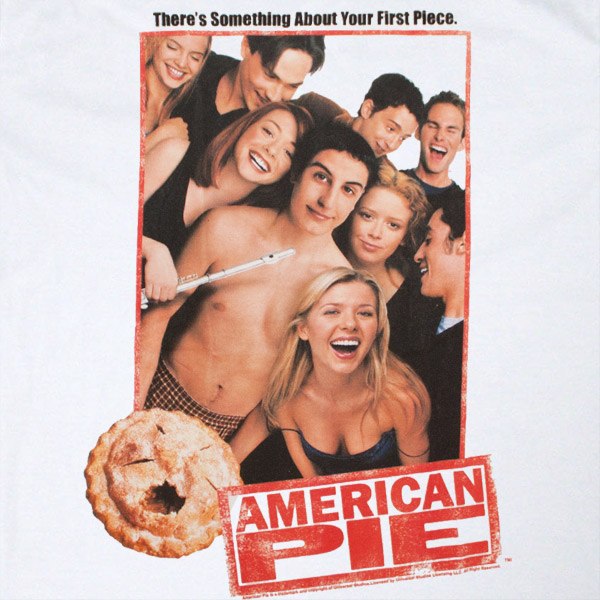 American Pie Poster Design White T Shirt
