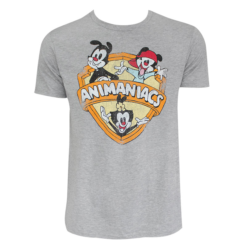 Animaniacs Men's Grey T-Shirt