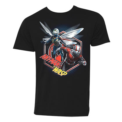 Ant-Man And The Wasp Hex Men's Black T-Shirt