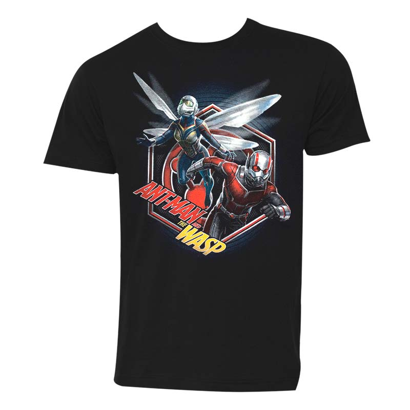 Ant-Man And The Wasp Hex Men's Black Tee Shirt